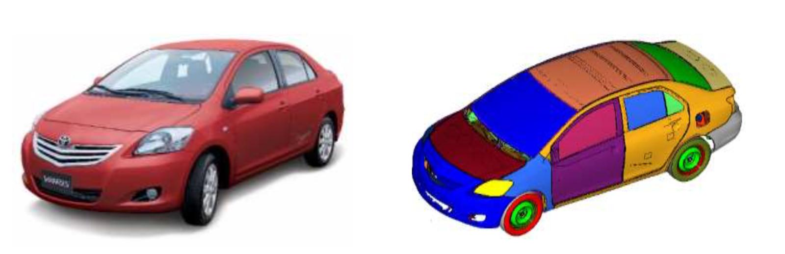 FEA-compendium-vehicle-model