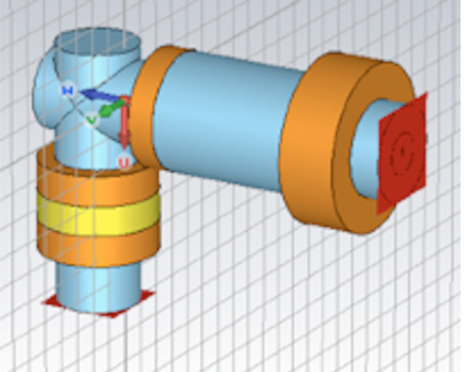 Simulation of a Multi-resonant Antenna System Using CST